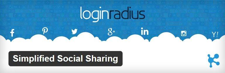 simplified social sharing