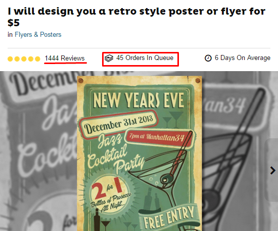 flyer design gig