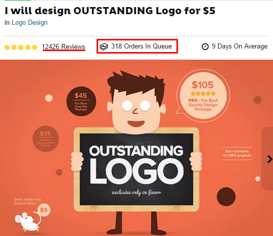 logo designing gig hot selling