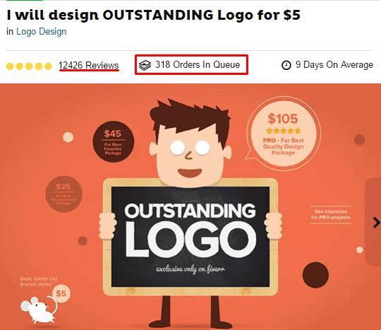 logo designing gig hot selling
