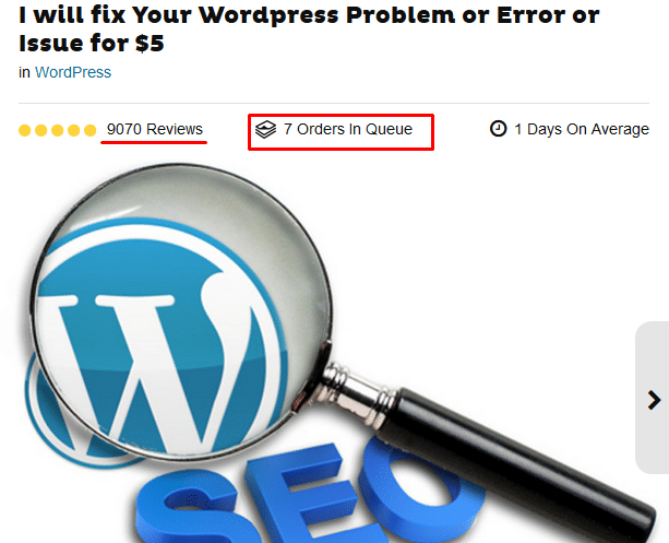 wordpress fixing idea