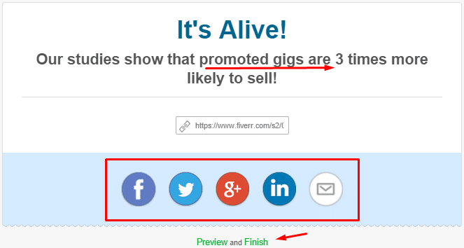 promoted offers sell higher