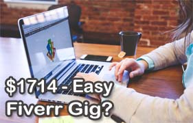How I Made $1714 With This Easy Fiverr Gig - blog