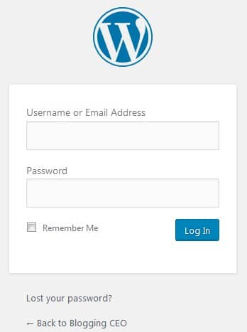 login-to-wordpress