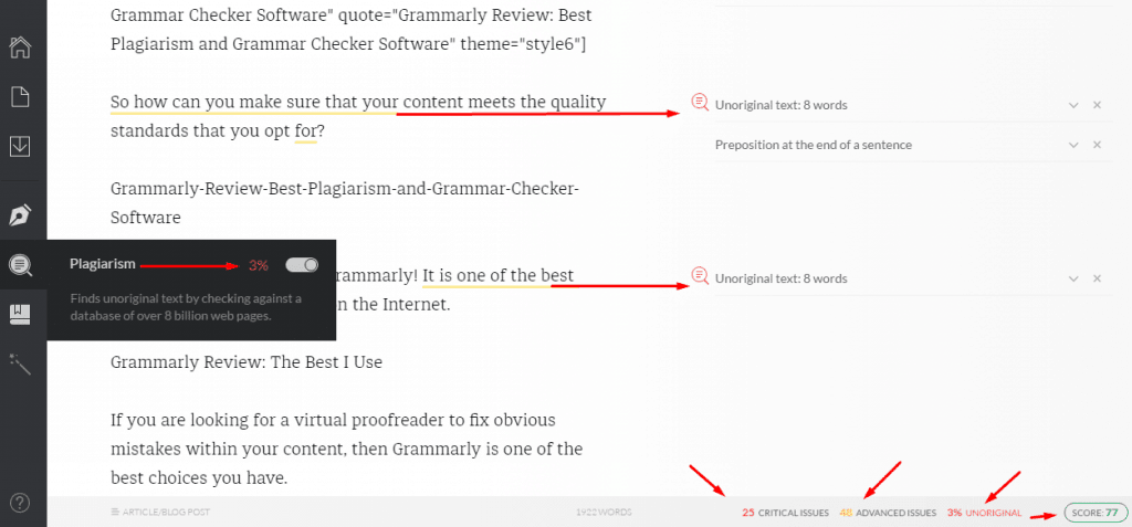 plagiarism-checker