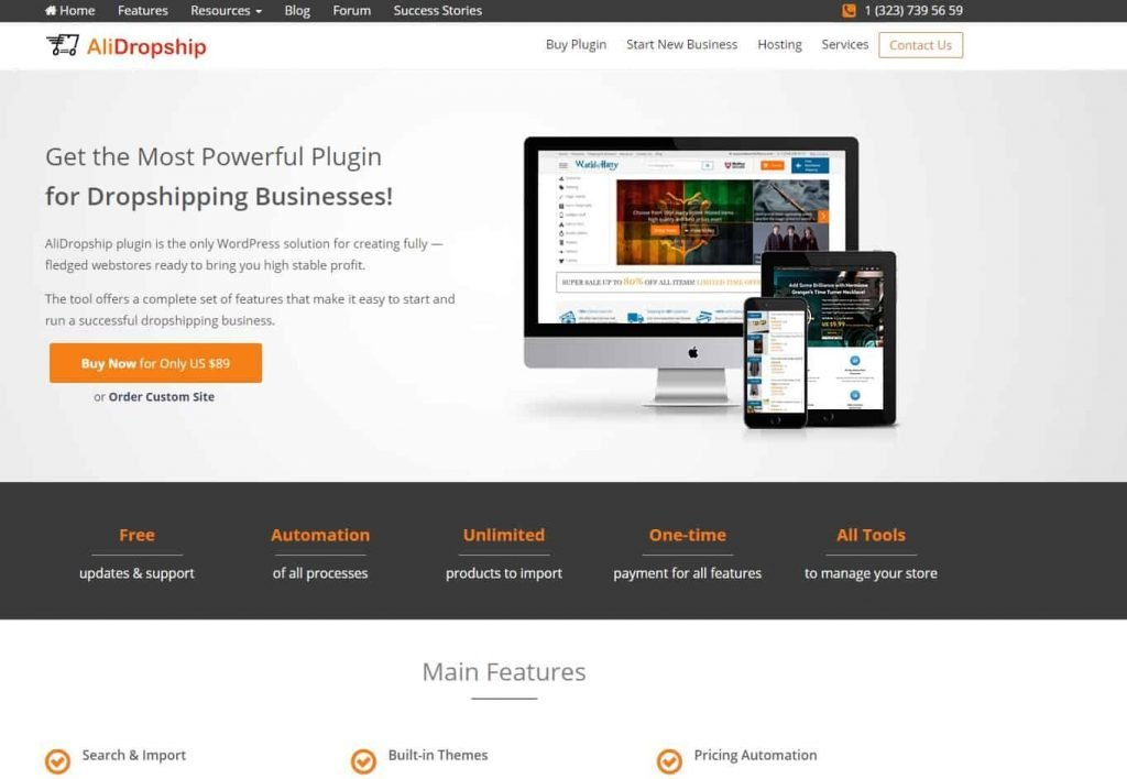 alidropship wordpress plugin