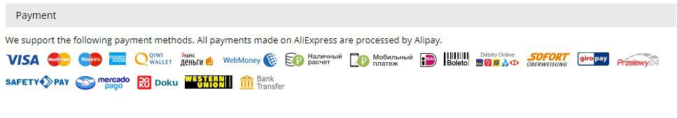 aliexpress payments