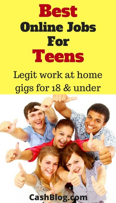 best online jobs for teens