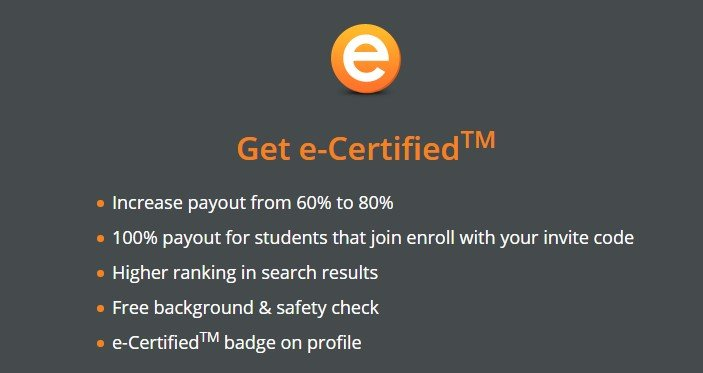 enroll e-certification