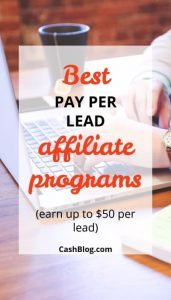 Best Pay Per Lead Affiliate Programs
