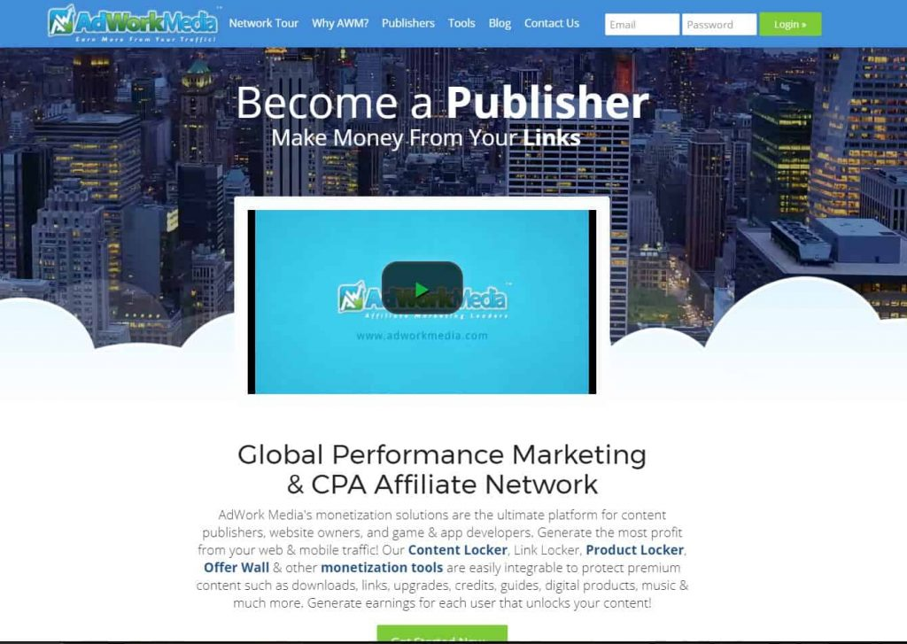 pay per click affiliate program